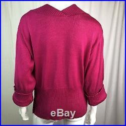 Rare Vintage Iceberg J. C. De Castelbajac Pink Tom & Jerry Warner Bros Sweater