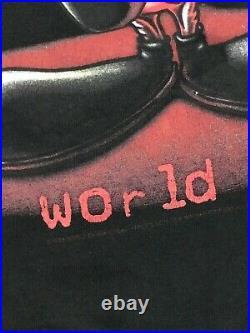 Rare Vintage Tweety Kane X. N. W. O Single Stitch Tshirt Size M /WWE, WWF