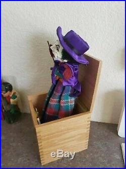 Rare Warner Bros Ltd Ed 80s Joker Exclusive Batman Puppet Figure