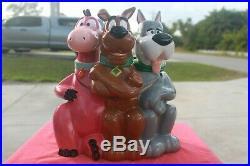Rare, Warner Bros Scooby, Astro, & Dino Cookie Jar