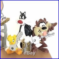 Rare Warner Bros Studio Store 1998 Looney Tunes Key Holder Bugs Bunny Tweety Taz