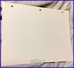 Rare Warner Brothers Wile E Coyote Laminated Cel Promo Binder Page Blue Print