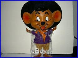Rare Wb Warner Bros Looney Tunes Lg 1973 21 Tall Speedy Gonzales Plastic Figure