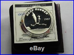 Road Runner Warner Looney Tunes Vintage 999 Silver Coin Box Coa Rare Only 1 Ebay