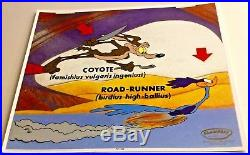 Road Runner Wile E Coyote Cel Faimishius Vulgaris Rare Number 1 Artist Proof