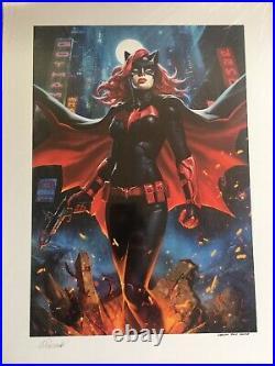 SIDESHOW Mondo BATWOMAN premium format art print rare Warner bros sample new