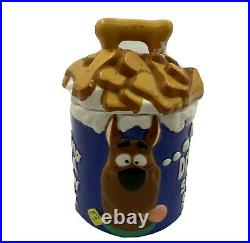 Scooby Doo Dreaming of a Scooby Snack Cookie Jar 1997 WBSS Rare Vintage With Box