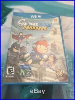 Scribblenauts Unmasked A DC Comics Adventure (Nintendo Wii U, 2013)rare Variant
