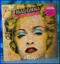 Sealed Rare 2009 4 LP Set Madonna Celebration Warners Bros. 521096-1