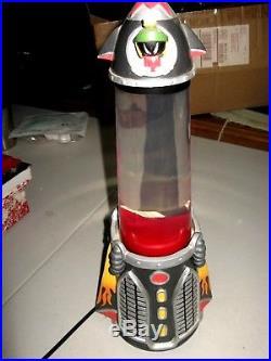 Super Rare Warner Bros. Studio Store Marvin Lunar Lamp Marvin The Martian WORKS