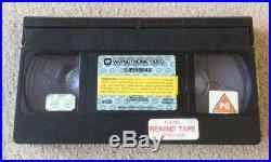 Superman 2 (1980) 1st Edition Ex Rental Warner Bros Big Box Pre Cert VHS RARE