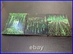The Matrix Trilogy 4K UHD (3 Steelbooks) Rare OOP