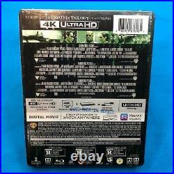 The Matrix Trilogy Steelbook (4K UHD Blu-ray Set + Digital) Best Buy, New RARE