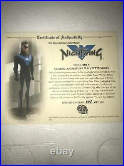 The New Batman Adventures Nightwing Maquette Statue Rare