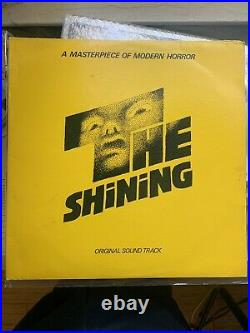 The Shining Original Soundtrack LP- RARE! Stanley Kubrick 1980 VINYL