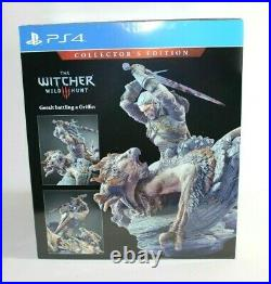 The Witcher 3 Wild Hunt Collector's Edition PS4 & PS5 BRAND NEW & SEALED! RARE