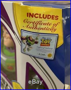 Toy Story Disney Pixar Buzz Lightyear Signature Collection New Sealed Rare New