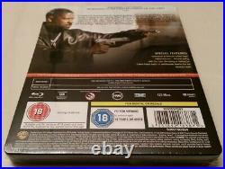 Training Day Embossed STEELBOOK (Blu-ray, UK Import) RARE OOP