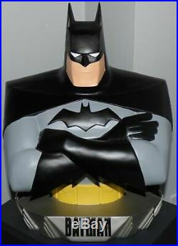 ULTRA RARE -1997 Batman Animated Statue Bust 18 (Warner Brothers Studio Store)