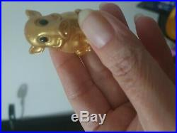 Ultra Rare Gold Pumba Lion King Collectible Woolies Ooshies