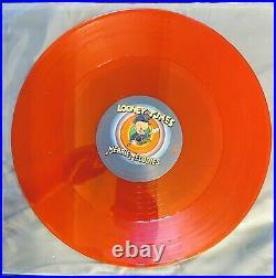 VAN HALEN 1978 WB Looney Tunes Merrie Melodies Rare RED VINYL Promo