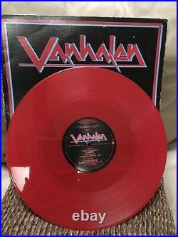 VAN HALEN LOONEY TUNES RARE PROMO RED VINYL LP VH 1 Pro 705 EDDIE VAN HALEN