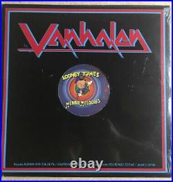 VAN HALEN Looney Tunes Merrie Melodies Red Vinyl Promo 12 PRO 705 RARE LP