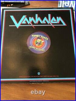 VAN HALEN RARE RED VINYL PROMO N. MINT Looney Tunes Merrie Melodies