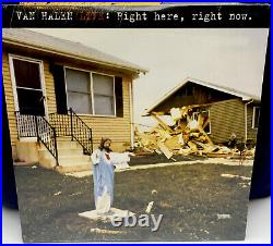 VAN HALEN Right Here Right Now LIVE Limited Edition 3LP BLUE VINYL VERY RARE