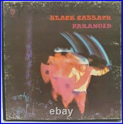 VERY RARE Black Sabbath Paranoid 1970 4-Track Reel-to-Reel Tape 3¾ IPS