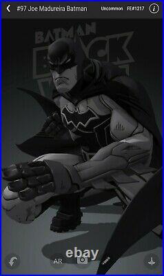 VEVE NFT #97 Joe Madureira Batman (SOLD OUT) FA RARE NFT CREATED! COLLECTORS