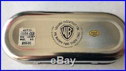 VINTAGE RARE Batman Warner Bros. Studio Store Silver Link Watch Super Rare