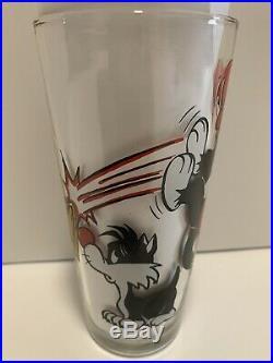 VTG 1976 Looney Tunes Sylvester & Hippety Hopper Pepsi Cup Warner Bros Rare