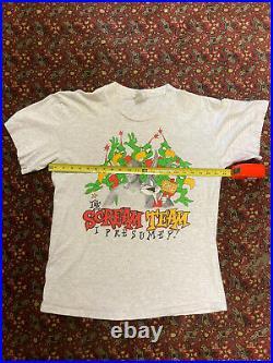 VTG 90s Nike Air Jordan Looney Tunes Rare Vintage 1993 Space Jam Shirt Mens XL