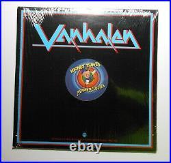 Van Halen 1978 Looney Tunes/Merrie Melodies 12 Red Vinyl Rare Promo Record