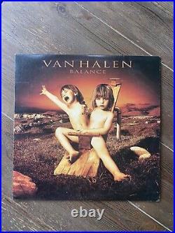 Van Halen Balance Vinyl LP RARE Eddie, Alex, Michael Anthony, Sammy Hagar