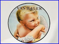 Van Halen Ultra Rare 1984 Picture Disc Vinyl LP Record Eddie David Lee Roth Alex