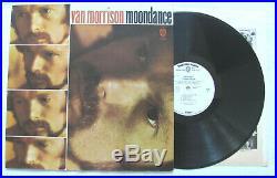 Van Morrison Moondance Original 1970 Warner Bros Lp 1a/1a Promo Wlp Rare