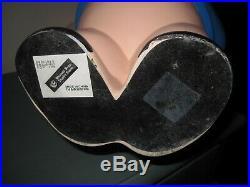 Very Rare 19 Large PORKY PIG Resin STATUE Big Fig Warner Bros Looney Tunes 2000