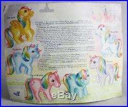 Very Rare Vintage 80's Greek My Little Pony Starshine Mlp El Greco New On Card
