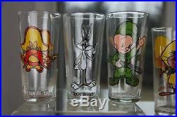 Vintage 1973 LOONEY TUNES Warner Brothers COMPLETE SET- Pepsi -18 Glasses RARE