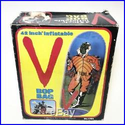 Vintage 1984 V ENEMY VISITOR 42 Punching Bop Bag Warner Bros Inc LJN ARCO Rare