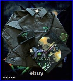 Vintage 1995 Batman Forever Warner Bros Movie T Shirt bundle jacket hat rare htf