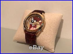 Vintage 1995 Disney Warner Bros. Armitron Tazmanian Devil See Through Watch Rare