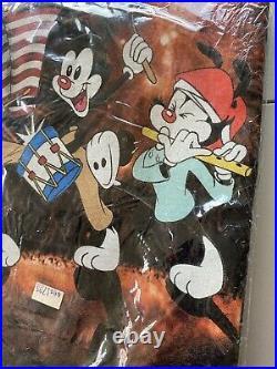 Vintage 1996 Animaniacs Cartoon ShowPromo Shirt XL 90s Deadstock Sealed RARE Vtg