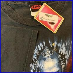 Vintage 1997 Batman & Robin Warner Bros Movie T Shirt Promo Size XL RARE VTG HTF