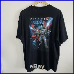 Vintage 1997 Warner Bros Batman & Robin Movie T Shirt Promo Size XL RARE