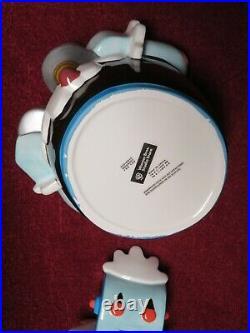 Vintage 1999 Warner Bros. Studio Store Rosie The Robot Cookie Jar With Box Rare