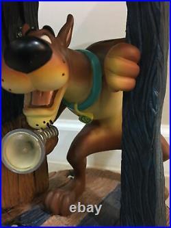 Vintage 2000 Warner Bros Studio Store Scooby Doo Lamp Rare Works No Paint Wear