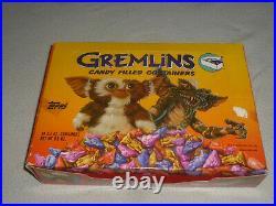 Vintage Candy Head 1984 Gremlins Topps Empty Display Box Rare Warner Bros